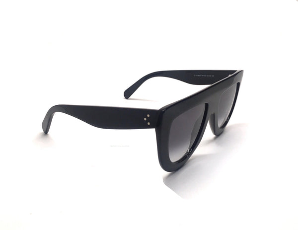 Celine Black Flat Top Andrea Sunglasses | CL 41398 807 | FREE OVERNIGHT SHIPPING