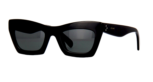 CÉLINE CL 41399 807 - BLACK with GRAY GRADIENT LENS -  - Sunglasses - Sunglass Trend - 1