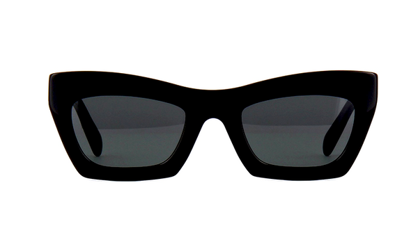CÉLINE CL 41399 807 - BLACK with GRAY GRADIENT LENS -  - Sunglasses - Sunglass Trend - 2