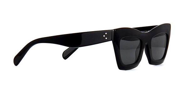 CÉLINE CL 41399 807 - BLACK with GRAY GRADIENT LENS -  - Sunglasses - Sunglass Trend - 3