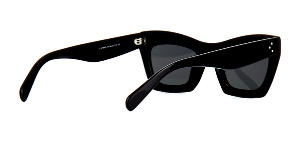 CÉLINE CL 41399 807 - BLACK with GRAY GRADIENT LENS -  - Sunglasses - Sunglass Trend - 5