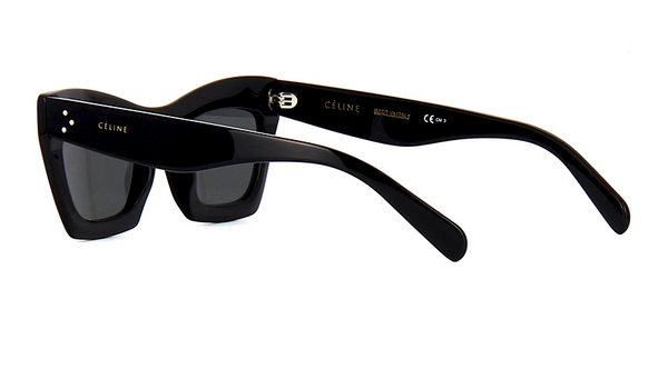 CÉLINE CL 41399 807 - BLACK with GRAY GRADIENT LENS -  - Sunglasses - Sunglass Trend - 7