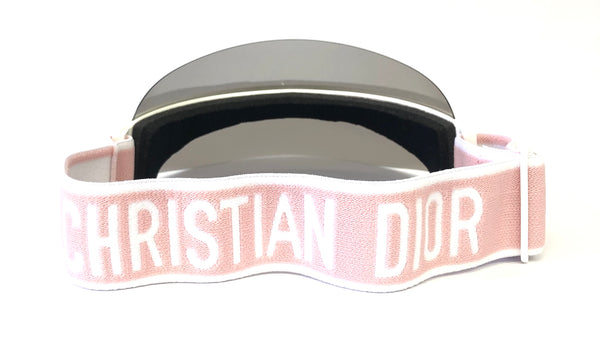Dior Club 1 White / Pink Visor Hat