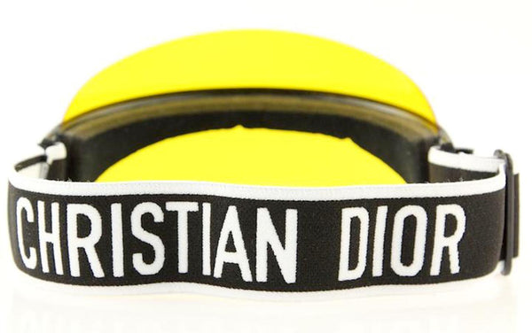 DIOR Club 1 Yellow Visor Hat