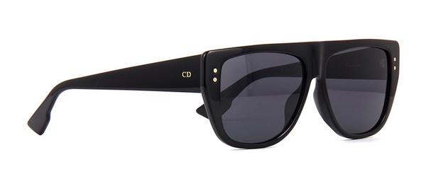 DIOR - Dior Club 2 Black Sunglasses with Detachable Visor J'Adior