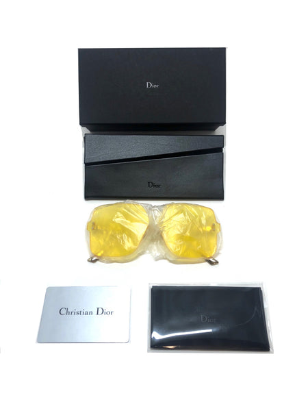 DIOR - Dior Color Quake 1 Yellow Large Sunglasses MU1U1