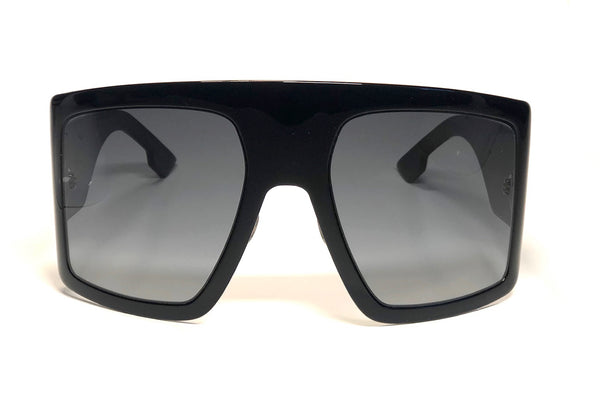 Dior So Light 1 Extra Large Gradient Lens Shield Sunglasses