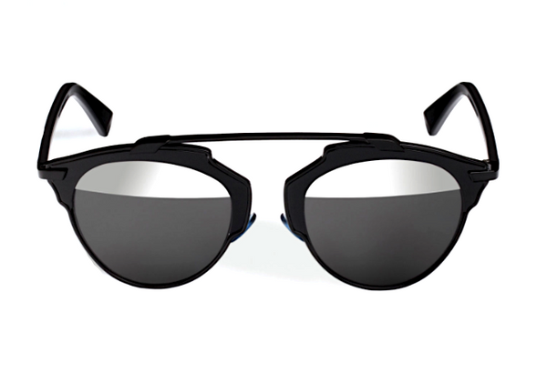 DIOR SO REAL BLACK - GRAY AND SILVER MIRROR LENS -  - Sunglasses - Sunglass Trend - 2