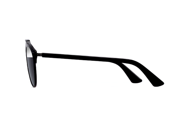 DIOR SO REAL BLACK - GRAY AND SILVER MIRROR LENS -  - Sunglasses - Sunglass Trend - 4
