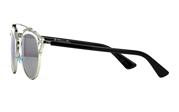 DIOR SO REAL SILVER METAL with SILVER MIRRORED LENS -  - Sunglasses - Sunglass Trend - 7