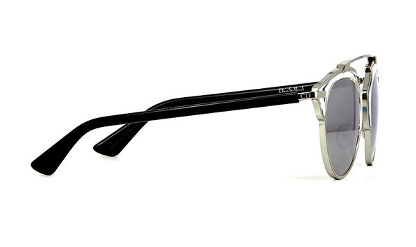 DIOR SO REAL SILVER METAL with SILVER MIRRORED LENS -  - Sunglasses - Sunglass Trend - 5