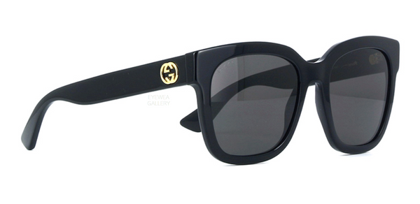 GUCCI Black Sunglasses GG0034S 001