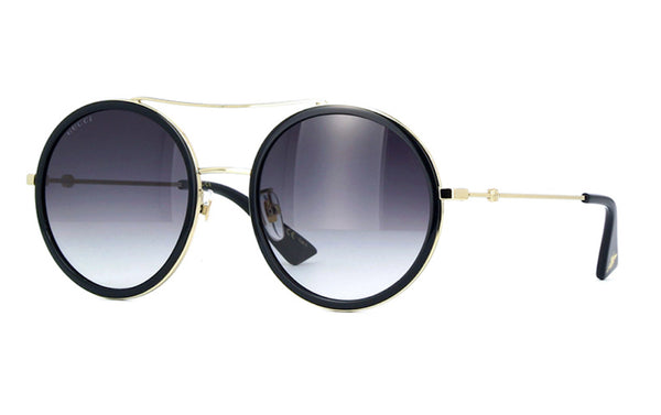 GUCCI GG 0061S 001 Oversized Round Sunglasses