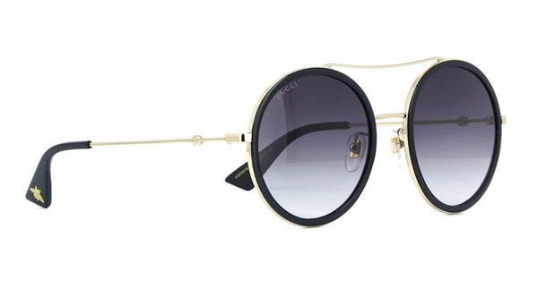 GUCCI Large Round Sunglasses GG0061S 001
