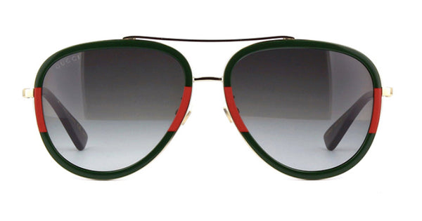 gucci gg0062s 003 gucci aviator red green