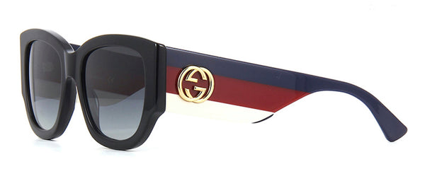 GUCCI GG0276S 001 Red White Blue Sunglasses