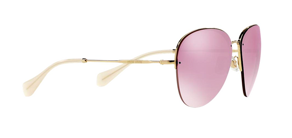 MIU MIU 53PS PINK MIRRORED LENSES -  - Sunglasses - Sunglass Trend - 3