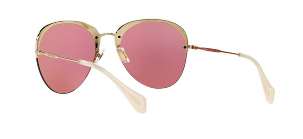 MIU MIU 53PS PINK MIRRORED LENSES -  - Sunglasses - Sunglass Trend - 5