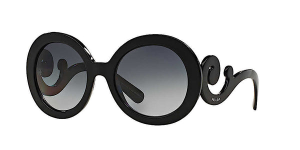 PRADA BAROQUE BLACK SUNGLASSES PR 27NS 1AB3M1