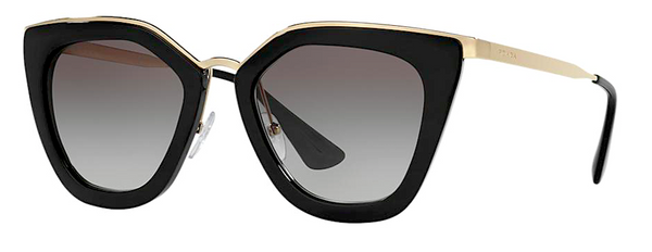PRADA PR 53SS 1AB0A7 BLACK CINEMA -  - Sunglasses - Sunglass Trend - 1
