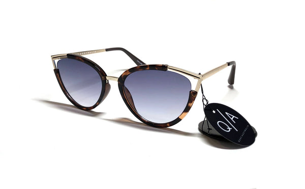 QUAY AUSTRALIA Hearsay Tortoise Shell Cat Eye