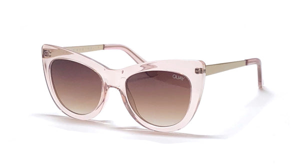 Quay pink steal a kiss cat eye sunglasses