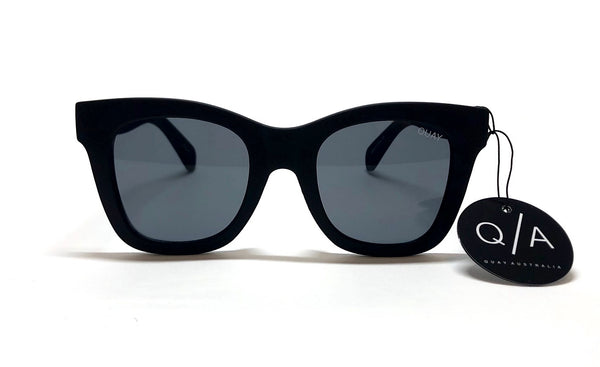 Quay after hours sunglasses black