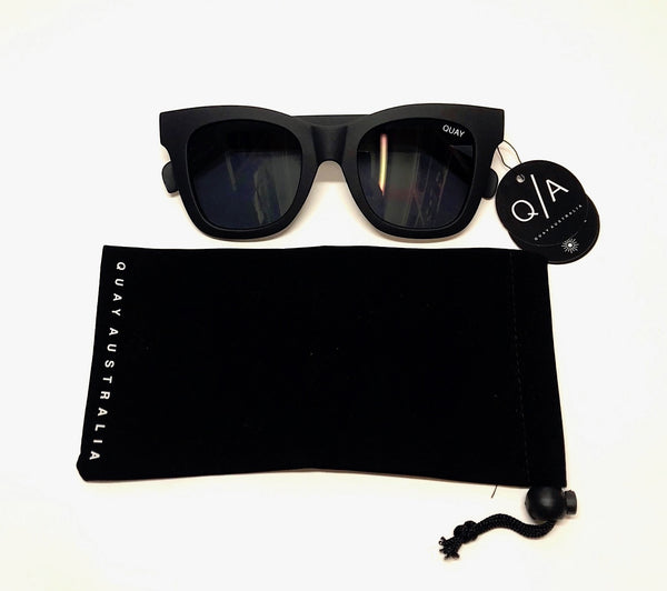 Quay black after hours sunglasses