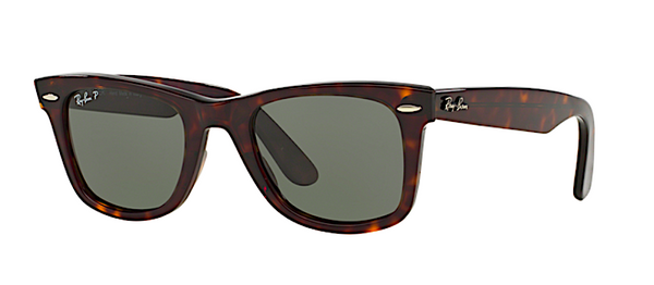 RAY BAN RB 2140 ORIGINAL WAYFARER POLARIZED -  - Sunglasses - Sunglass Trend - 1