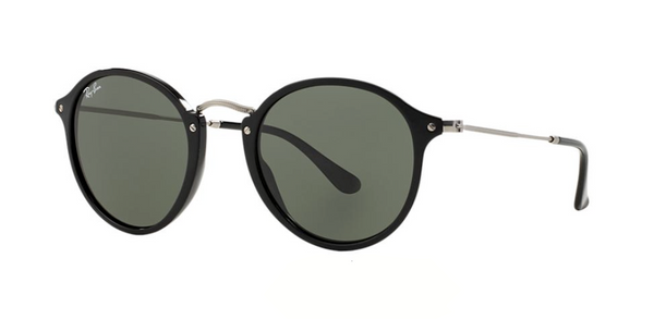 Black Rounded RAY BAN Sunglasses RB 2447 901 49mm