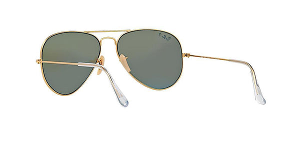 RAY BAN RB 3025 112/17 GOLD WITH BLUE FLASH -  - Sunglasses - Sunglass Trend - 7