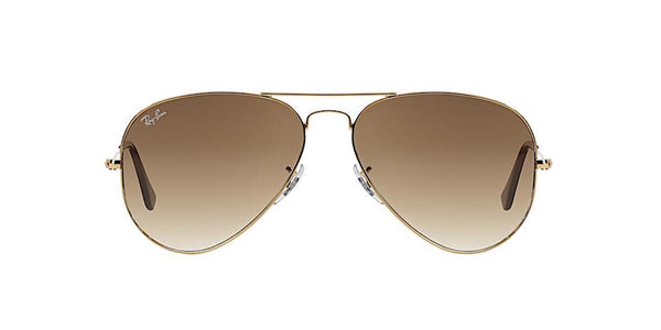 RAY BAN RB 3025 001/51 GOLD WITH BROWN GRADIENT -  - Sunglasses - Sunglass Trend - 2