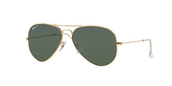 RAY BAN RB 3025 001/58 GOLD POLARIZED -  - Sunglasses - Sunglass Trend - 1