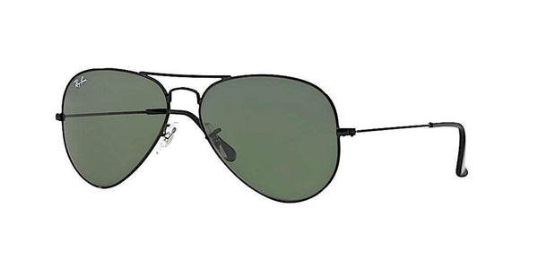 RAY BAN RB 3026 L2821 LARGE BLACK AVIATOR