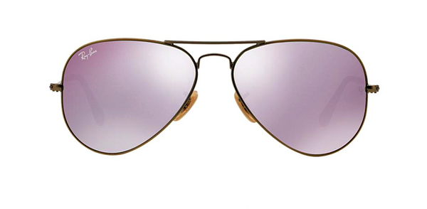 RAY BAN RB 3025 BRONZE WITH LILAC MIRROR LENS -  - Sunglasses - Sunglass Trend - 2