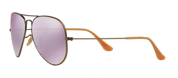 RAY BAN RB 3025 BRONZE WITH LILAC MIRROR LENS -  - Sunglasses - Sunglass Trend - 6