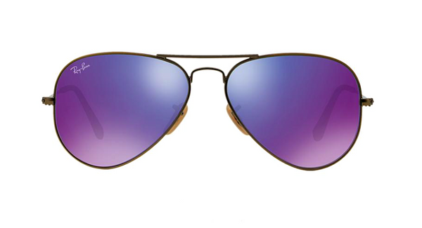 RAY BAN RB 3025 BRONZE WITH PURPLE MIRROR LENS -  - Sunglasses - Sunglass Trend - 2