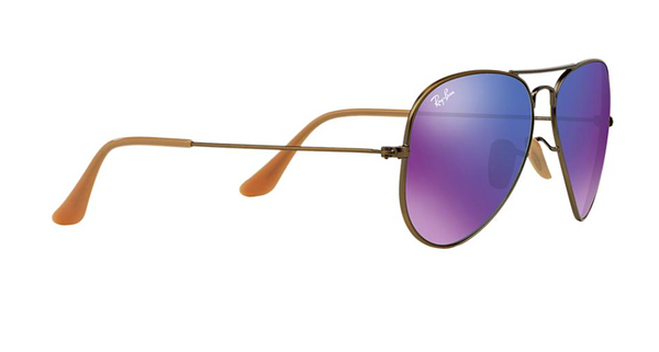 RAY BAN RB 3025 BRONZE WITH PURPLE MIRROR LENS -  - Sunglasses - Sunglass Trend - 4