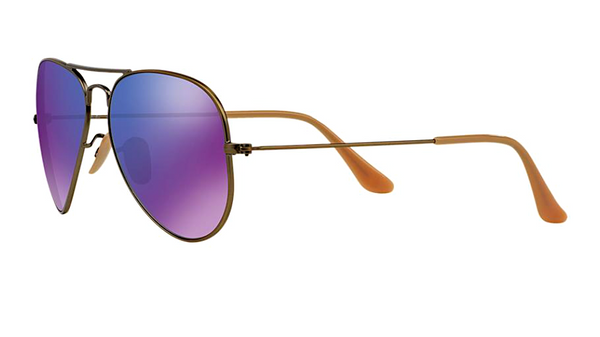 RAY BAN RB 3025 BRONZE WITH PURPLE MIRROR LENS -  - Sunglasses - Sunglass Trend - 6