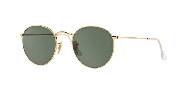 Ray-Ban Round Metal RB 3447 - Gold -  - Sunglasses - Sunglass Trend - 2