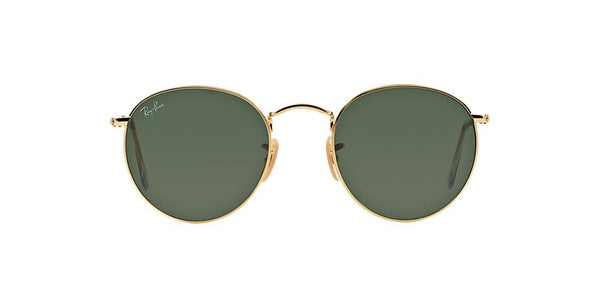 Ray-Ban Round Metal RB 3447 - Gold -  - Sunglasses - Sunglass Trend - 3