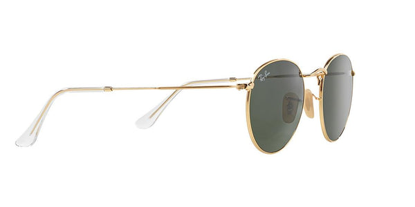 Ray-Ban Round Metal RB 3447 - Gold -  - Sunglasses - Sunglass Trend - 4