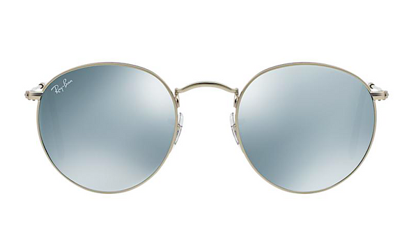 RAY BAN RB 3447 SILVER WITH SILVER FLASH MIRROR LENSES -  - Sunglasses - Sunglass Trend - 2