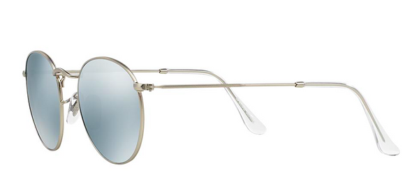 RAY BAN RB 3447 SILVER WITH SILVER FLASH MIRROR LENSES -  - Sunglasses - Sunglass Trend - 5