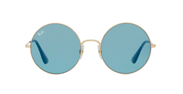 OVERSIZED RAY BAN ROUND RB 3592 001/F7 |  Janis Joplin SUNGLASSES