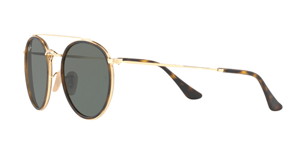 RAY-BAN RB 3647 N 001 Double Bar Round Sunglasses
