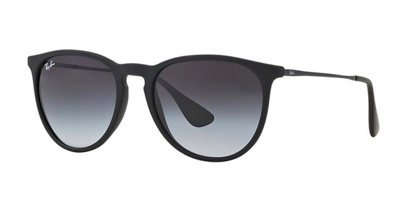 black ray ban erika sunglasses model rb 4171 622 8g