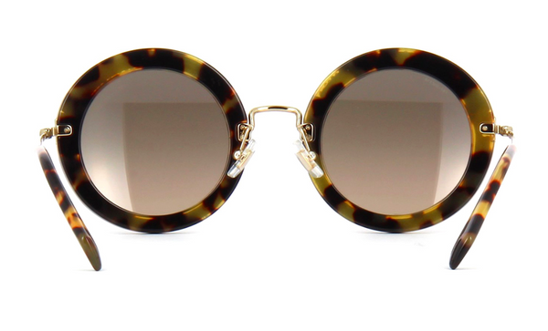 MIU MIU Limited Edition MU 08RS Light Havana with Hand Set Crystals -  - Sunglasses - Sunglass Trend - 6