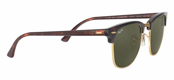 RAY-BAN Tortoise Shell Clubmaster RB 3016 W0366