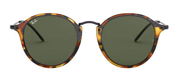 RAY-BAN Tortoise Shell Round Sunglasses RB 2447 1157